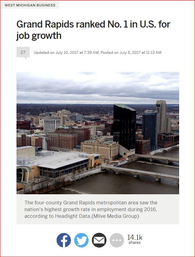 MLive GR #1 Jobs